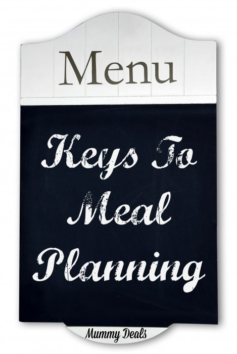 Let these tips help you become a meal planning pro whether you are starting for the first time or have taken a break and need a couple of reminders. - Mummy Deals
