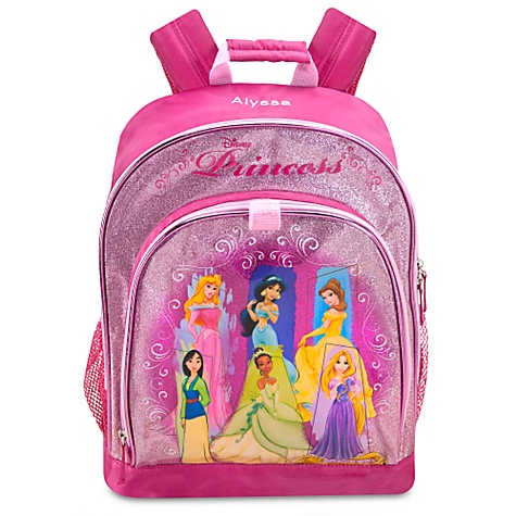 Personalized Disney Backpacks.