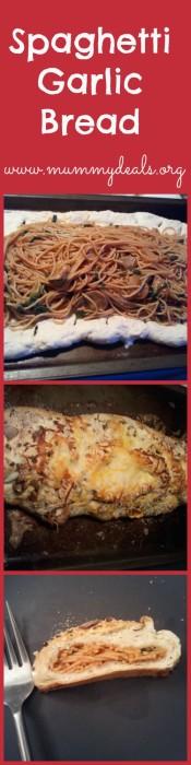 Spaghetti Garlic Bread