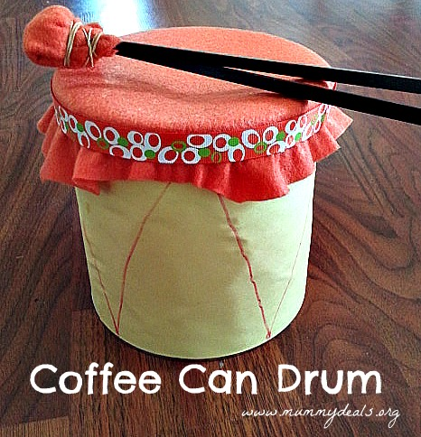 How to make a coffee can drum mummy deal - What are coffee cans made of ...