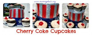 Cherry Coke Cupcakes