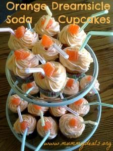 Orange Dreamsicle Cupakes