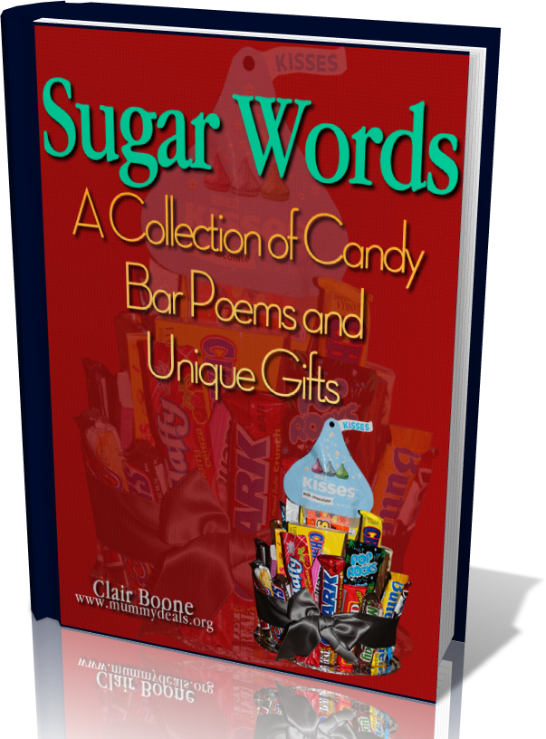 Sugar Words: Candy Bar Poem eBook
