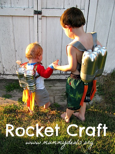 Pop Bottle Rocket