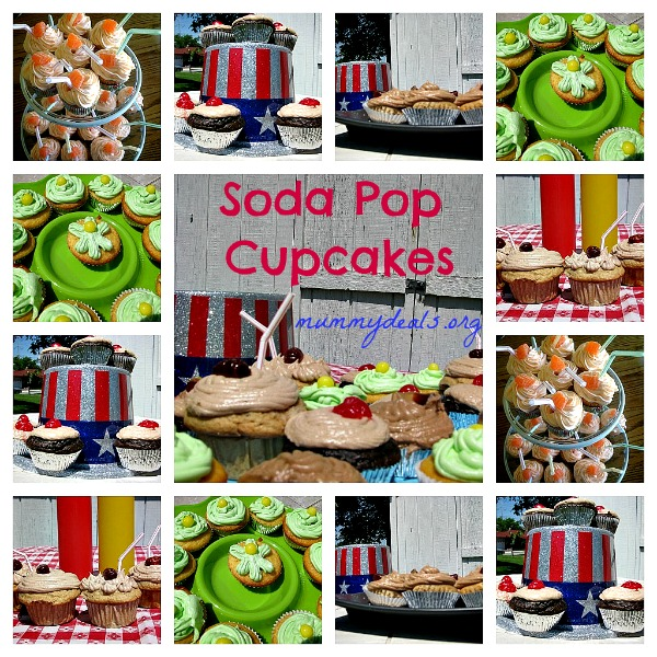 Soda Pop Cupcakes