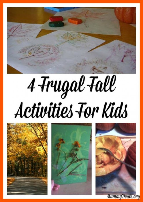 4 Frugal Fall Activities For Kids - MummyDeals.org