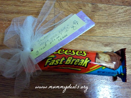 Candy Bar Teacher Appreciation Gifts