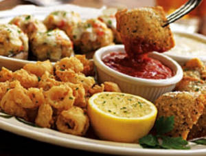 Free Appetizer At Olive Garden September 2012