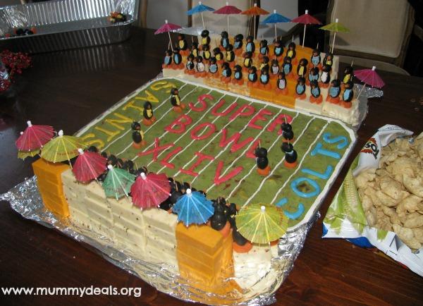 football Stadium Appetizer