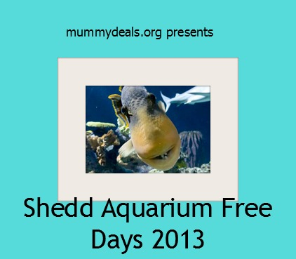 Shedd aquarium museum free days 2013 Aquarium free days