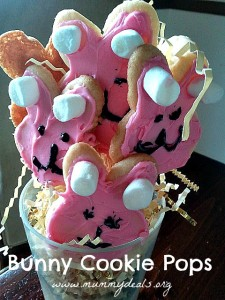 Bunny Cookie Pops