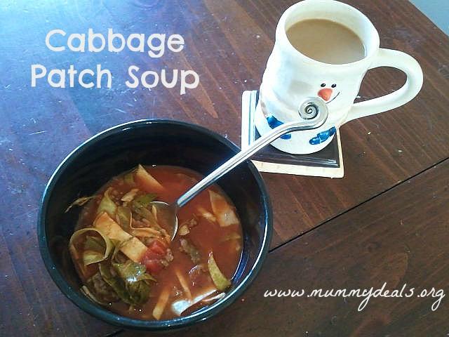 crock pot soup recipes, Cabbage Patch Soup