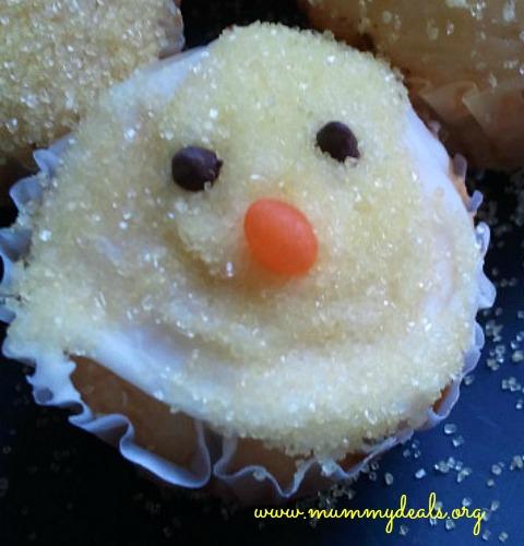 chicak cupcake