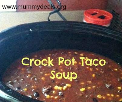 Crock Pot Soup Recipes, CrockPot Taco Soup