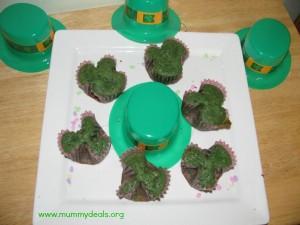 Shamrock Cupcakes 2
