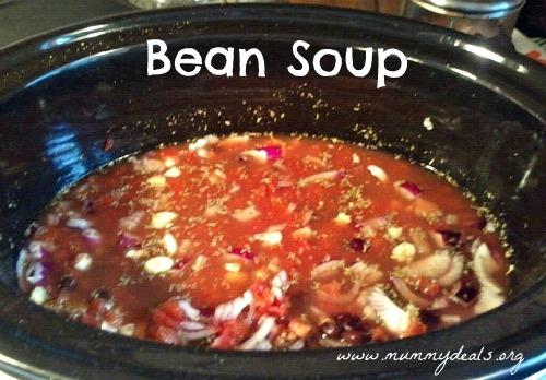 Crock Pot Soup Recipes, Slow Cooker Bean Soup