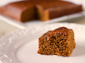 guiness gingerbread cake