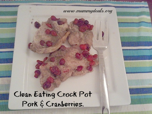 Crock Pot Clean Eating Pork