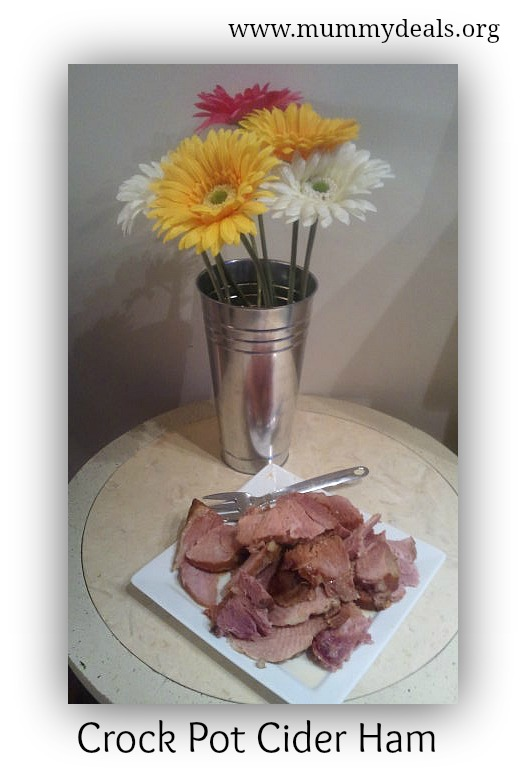 Crock Pot Cider Ham