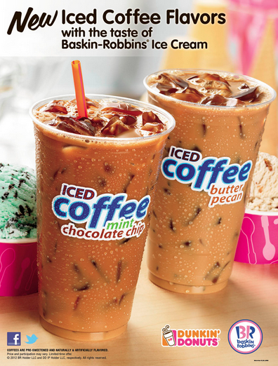 Butter Pecan Mint Choco Iced Coffee 1