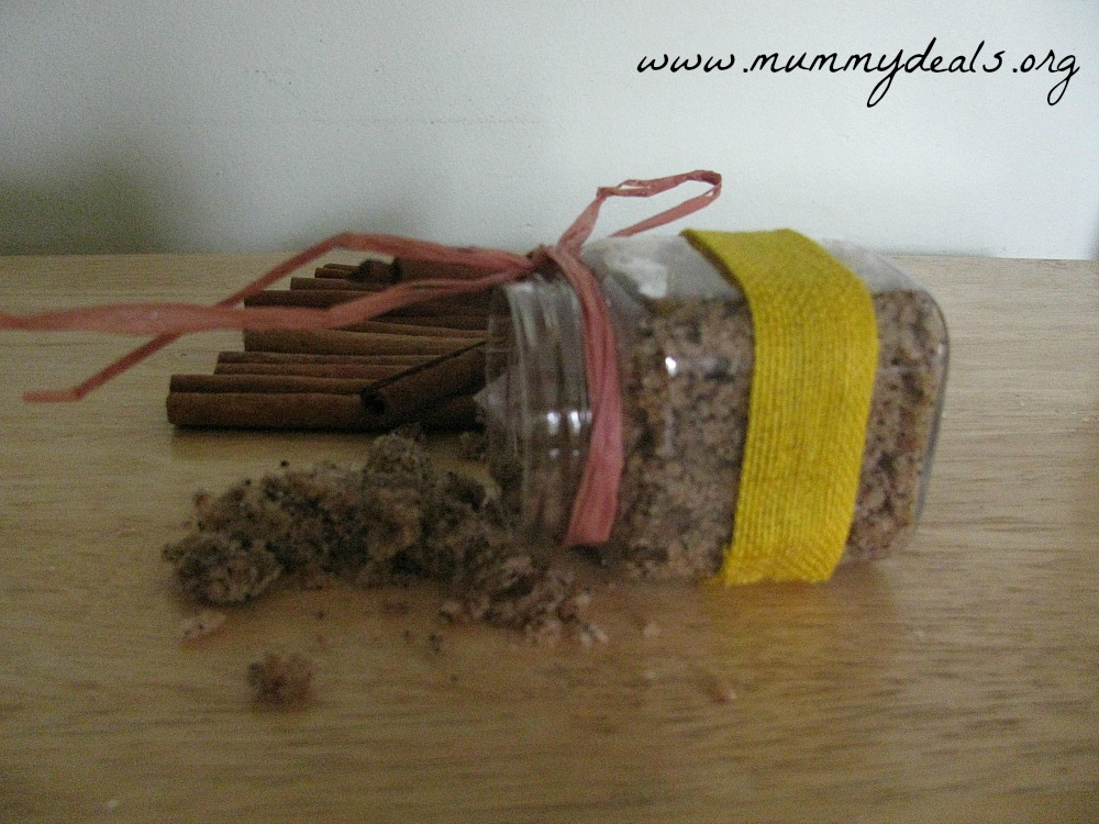 Cinnamon Coffee Scrub