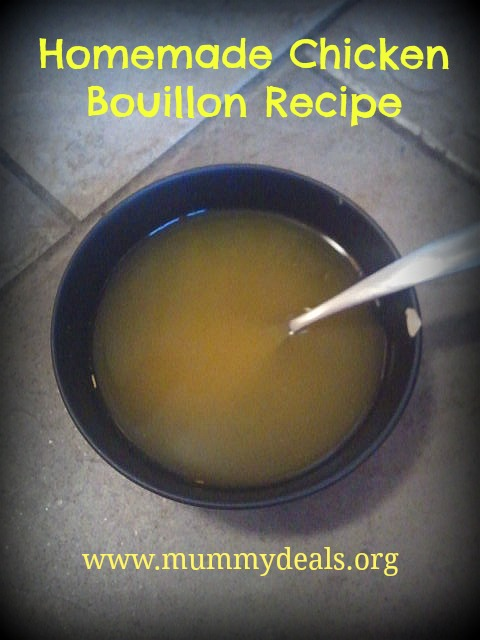 Homemade Chicken Stock, Chicken Bouillon Recipe