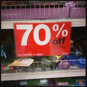 Target Easter Clearance