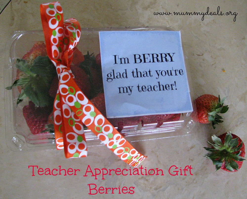 Teacher Appreciation Gifts berries