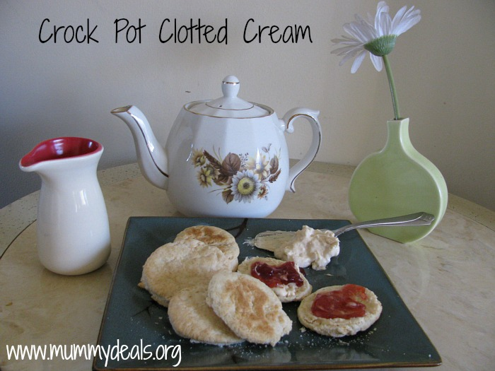 Crock pot Clotted Cream recipe