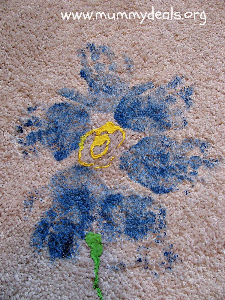 Handprint Doormat