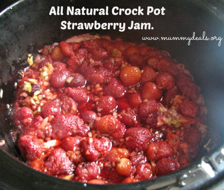 All Natural Strawberry Jam