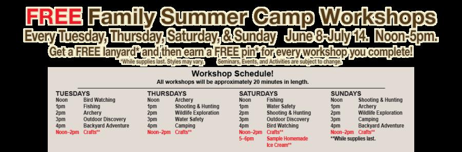 Bass Pro Free Kids Camp