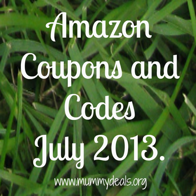 Amazon Coupons and Codes July 2013