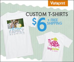 Custom T-Shirts Vistaprint