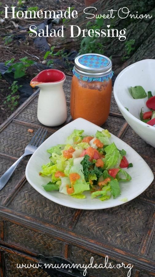 Sweet Onion Salad Dressing