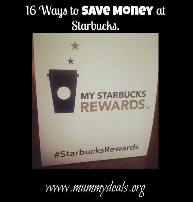 Ways to Save at Starbucks
