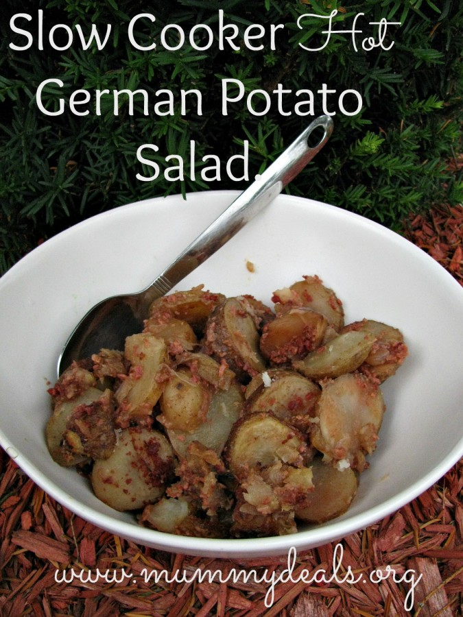 Crock Pot German Potato Salad