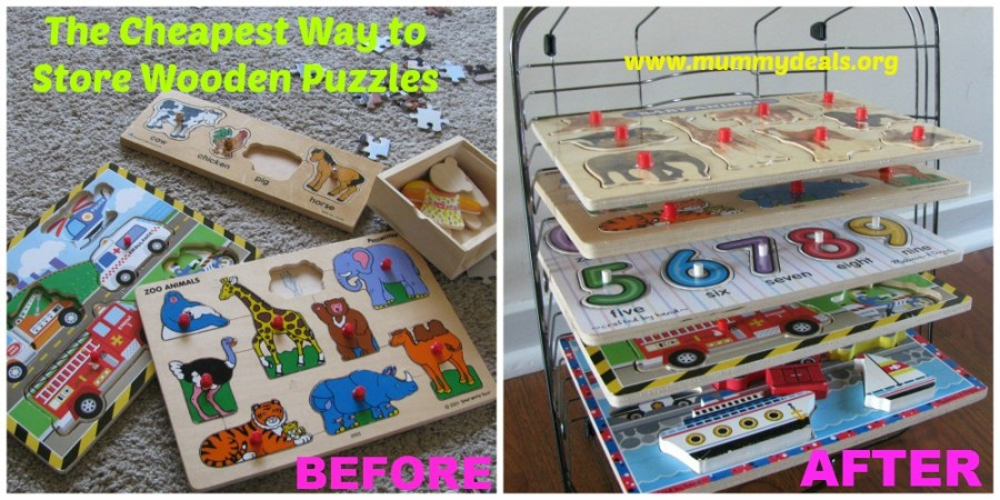 Store Wooden Puzzle