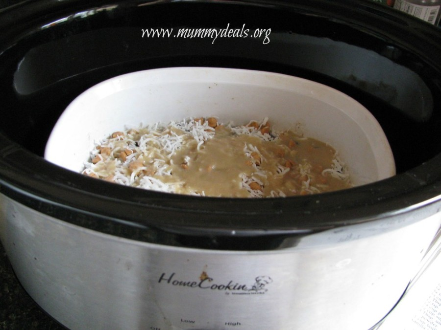 Slow Cooker Seven Layer Bars