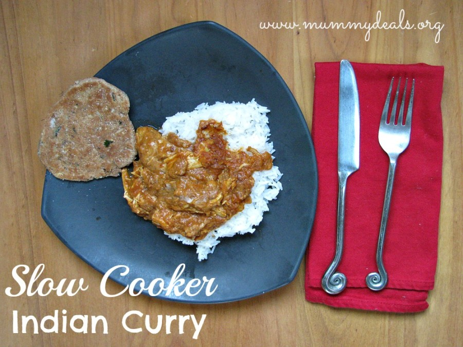 Crock pot Indian Curry Recipe