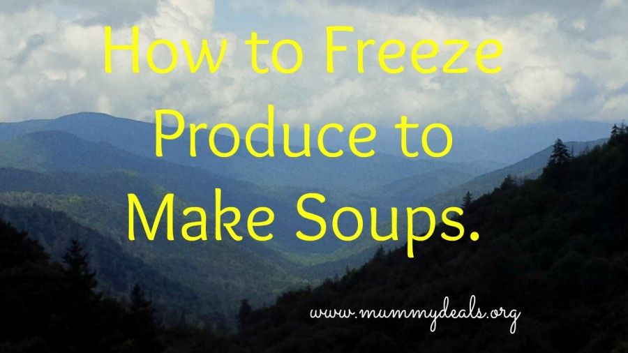How to Freeze Produce to Make Soups