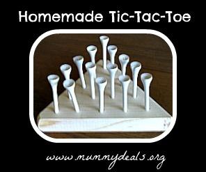 Homemade Tic Tac Toe