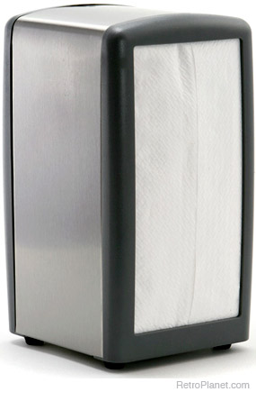 Gray Napkin Holder Dispenser $7 (Reg. $13.99)