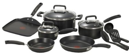 T-fal Initiatives Nonstick Inside and Out Oven Safe Dishwasher Safe Cookware Set $59.90 (SAVE $19.10)