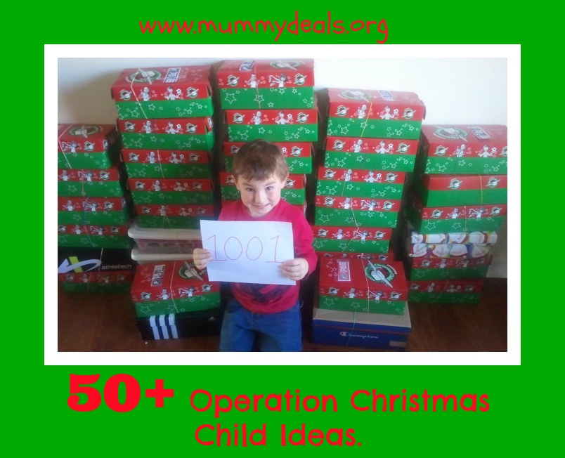 50+ Operation Christmas Child Ideas