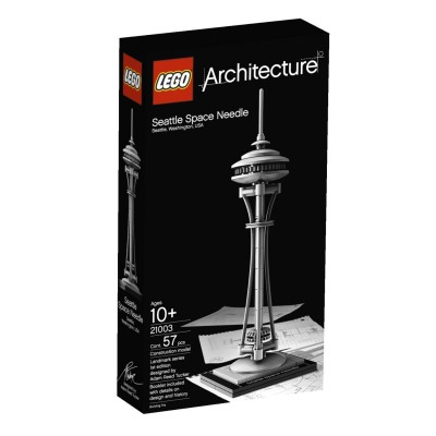 LEGO Architecture Seattle Space Needle $17.59 (SAVE $7.40)