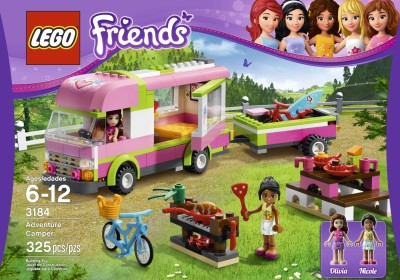 LEGO Friends 3184 Adventure Camper $27.09 (SAVE $7.90)