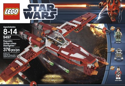 LEGO Star Wars 9497 Republic Striker-class Starfighter $34.37 (SAVE $10.62)