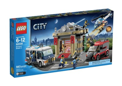 LEGO City Police Museum Break $48.45 (SAVE $21.54)