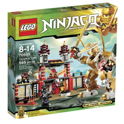 LEGO Ninjago Temple of Light $54.19 (SAVE $15.80)